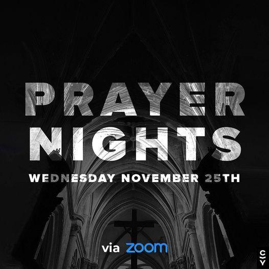 prayer night November 25