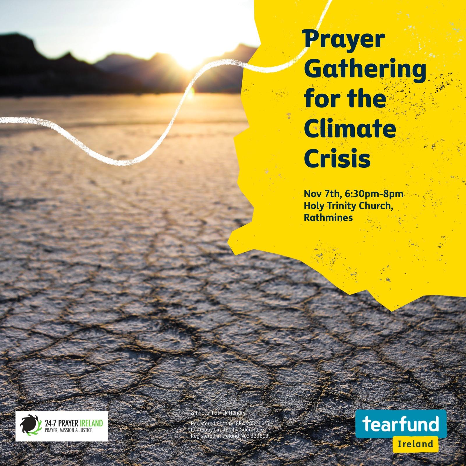 climate crisis prayer gathering
